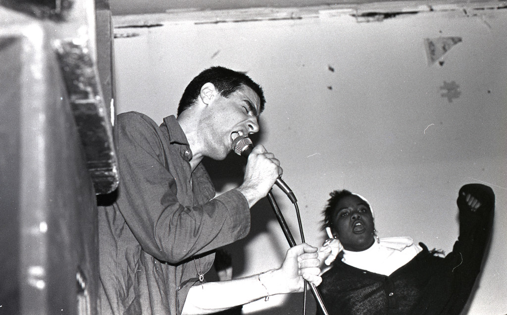 Fugazi at Wilson Center in Washington D.C., March 3, 1988.