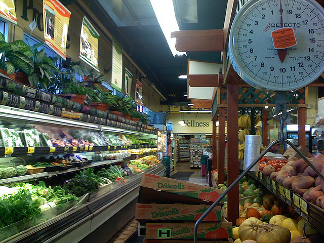 Natural food stores have grown in popularity.