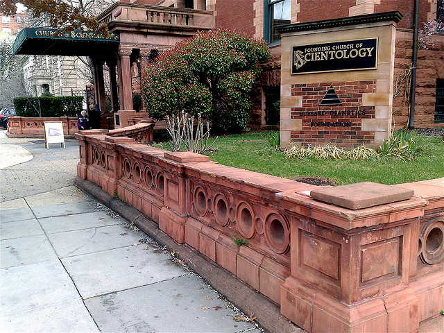 The Founding Church of Scientology in Washington, DC.