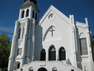 Nine black attendees were killed by a white shooter at Charleston, S.C.'s historical Emanuel AME Church on Wednesday.