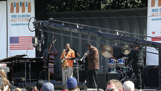 The D.C. Jazz Fest in 2005.