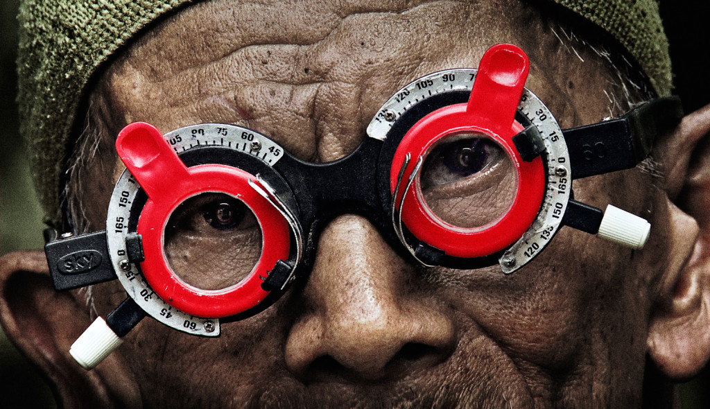 "A still from Joshua Oppenheimer's new film ""The Look Of Silence."""