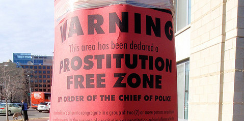 "A ""prostitution-free zone"" in Washington D.C. in 2009."