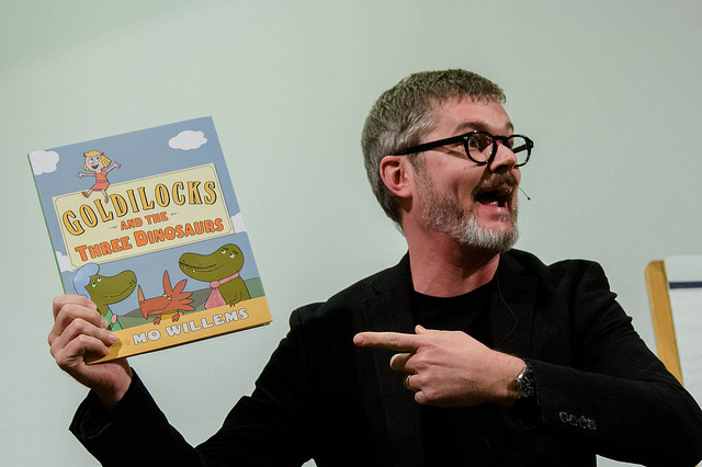Author and illustrator Mo Willems