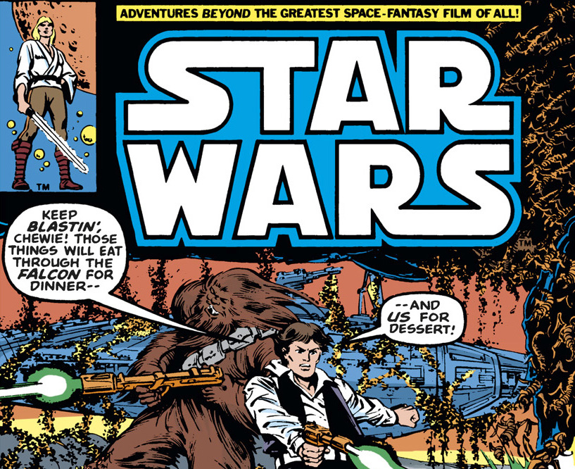 The cover of a Star Wars cartoon from 1979.