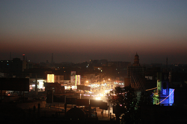 Multan, Pakistan, where Washington Post reporter Tim Craig was reportedly blocked from leaving his hotel to report.