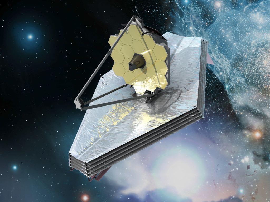 The James Webb Space Telescope is the size of a tennis court! It's currently under construction but will make major improvements throughout the next year.