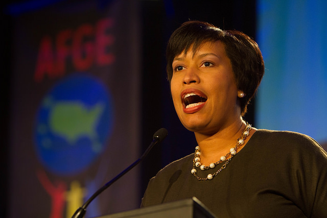 Mayor Muriel Bowser in 2015.