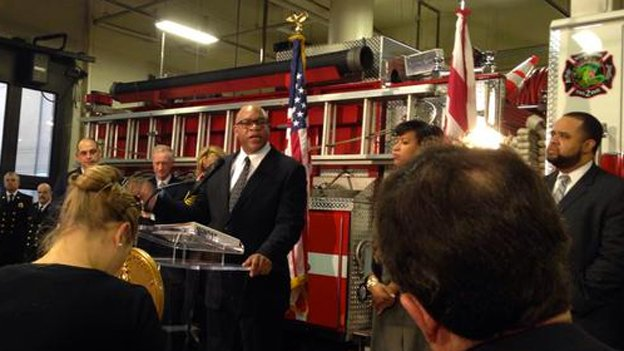 D.C. Fire Chief Gregory Dean