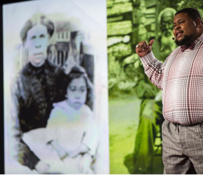 Michael W. Twitty, a TED fellow speaking at the 2016 conference in Vancouver on culinary justice, racial reconciliation and his journey to find his family history through food.