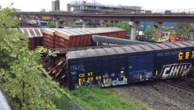 CSX Train Derailment Raises Concerns About Chemical Safety