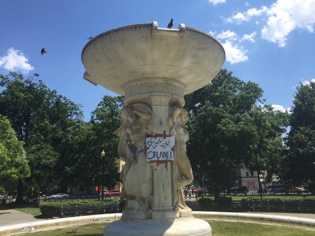Dupont Circle in NW Washington on Sunday, June 12.