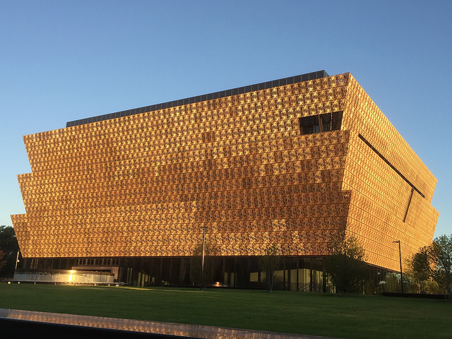 The National Museum of African American History and Culture opens in September 2016.