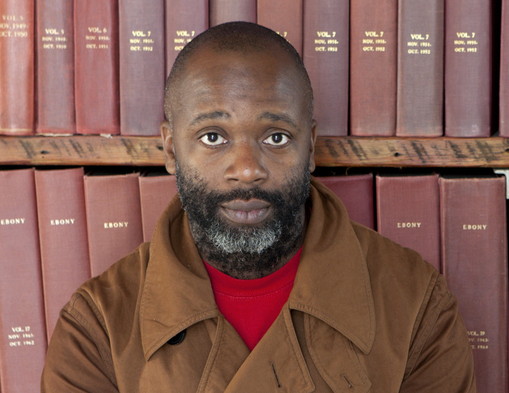 Performance artist Theaster Gates
