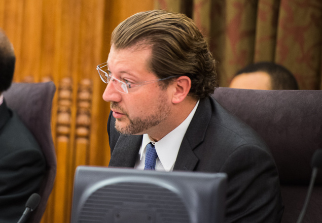 Councilmember David Grosso was a deciding vote in moving D.C.'s Death With Dignity legislation forward.