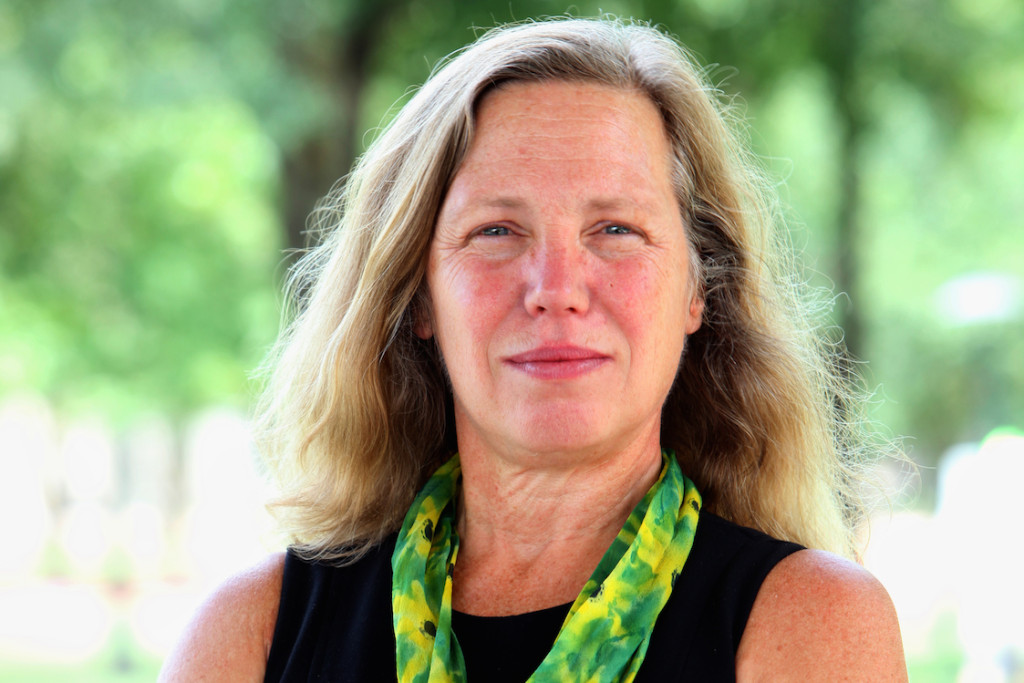 Green Party Senate candidate Margaret Flowers