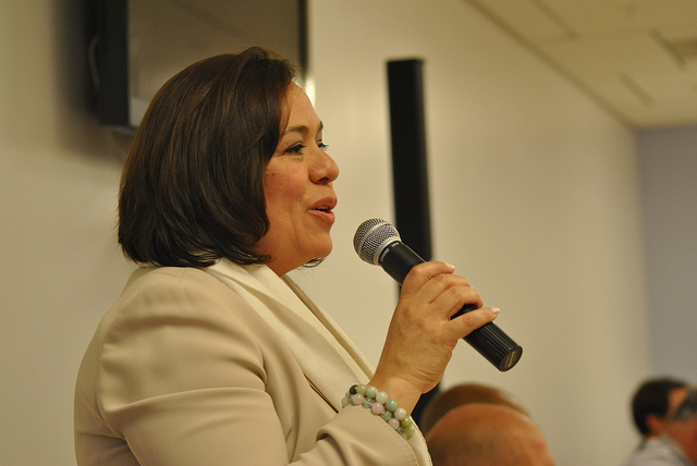 Councilmember Nancy Navarro of Montgomery County.