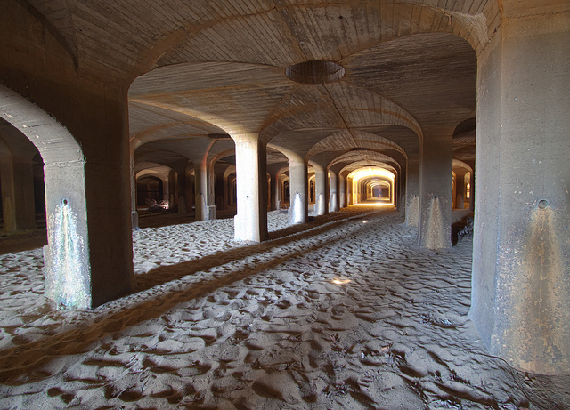 Catacombs below McMillan Park, a decommissioned water treatment plant in Northwest D.C.