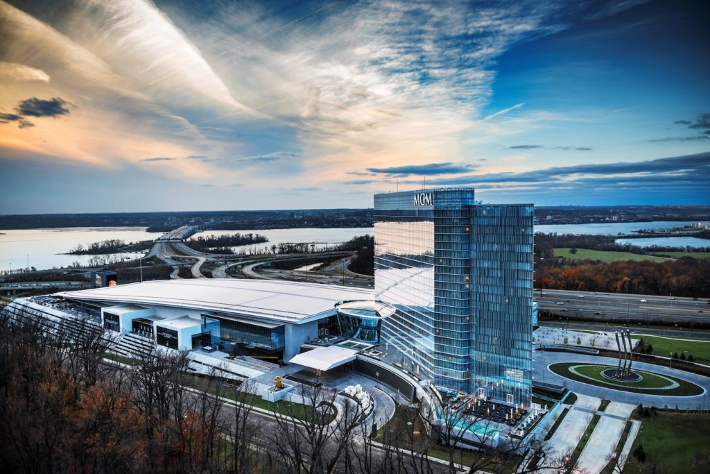 View of MGM National Harbor