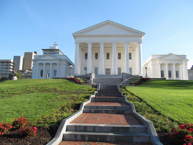 The Virginia State Capitol building