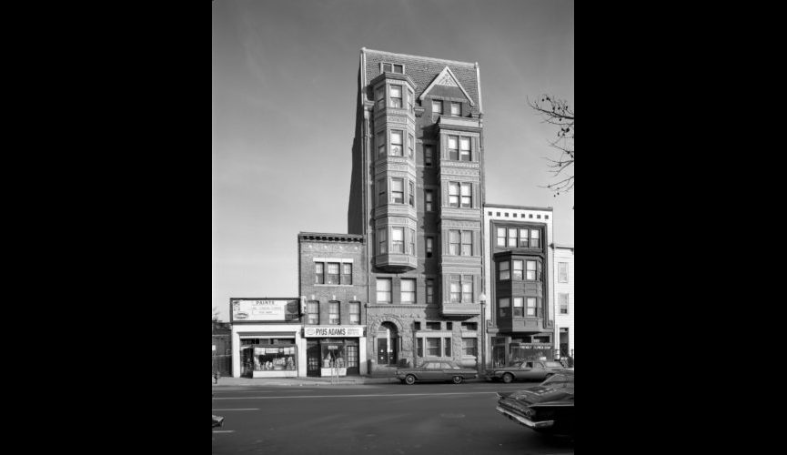 1115 9th Street NW, photographed 1/4/1966.
