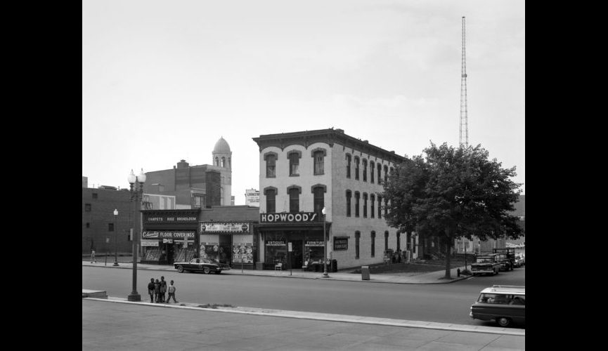 919-901 New York Ave. NW, photographed 7/5/1963.