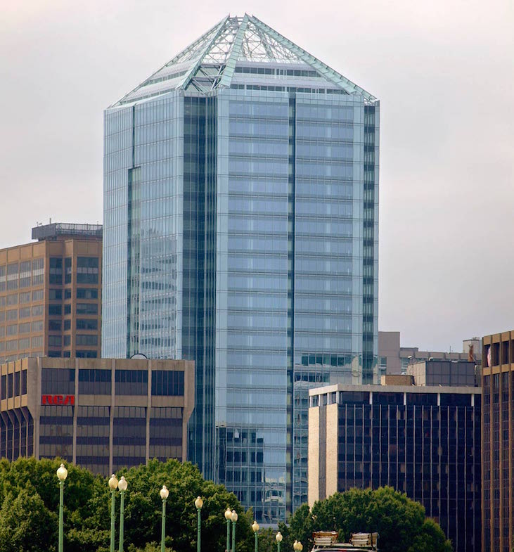 The Rosslyn, Va., building Nestlé USA will move into in 2018.