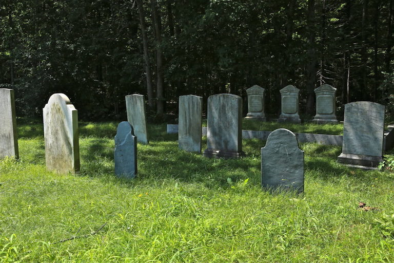 A Bethesda church and Montgomery County are at odds over how to remember a burial ground.