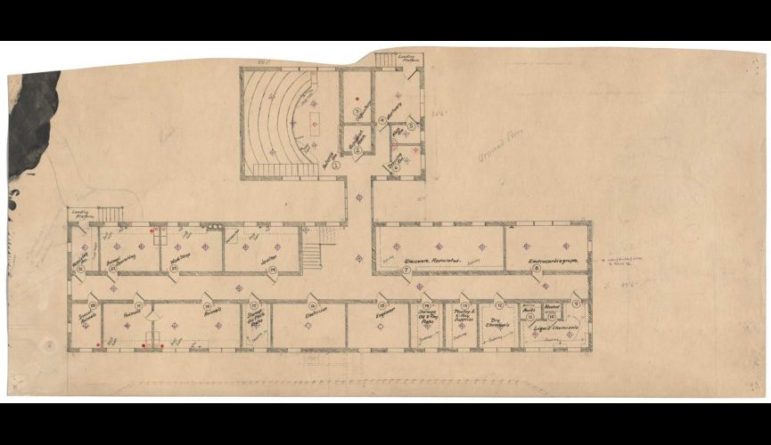 Laboratory—Autopsy-room-plan