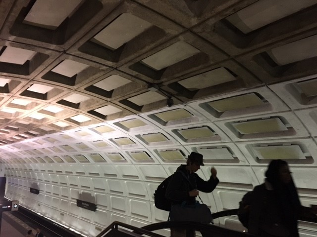 Metro's tunnels are getting a makeover with a coat of white paint at Union Station.