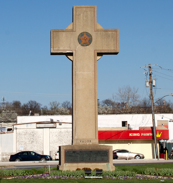 "The ""peace cross"" in Hyattsville, Md."