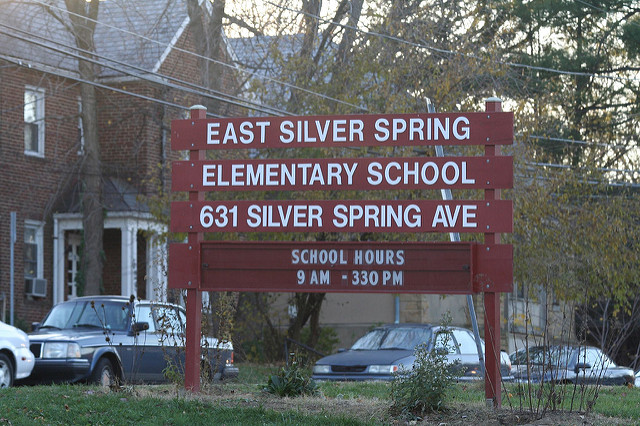 East Silver Spring Elementary School in Montgomery County