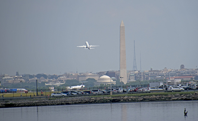 Take-Off from Reagan-National Airport