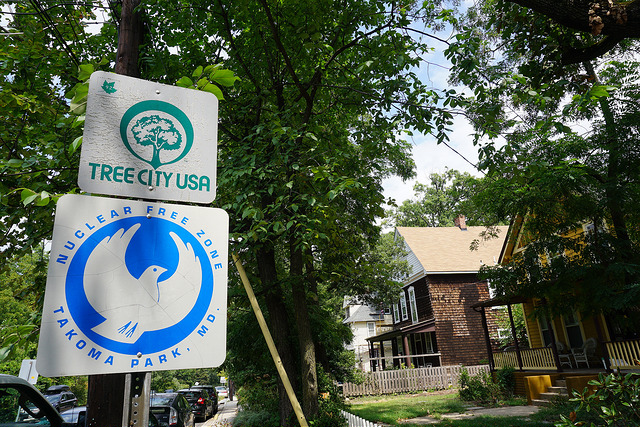 A couple other signs you may see in Takoma Park, Md.