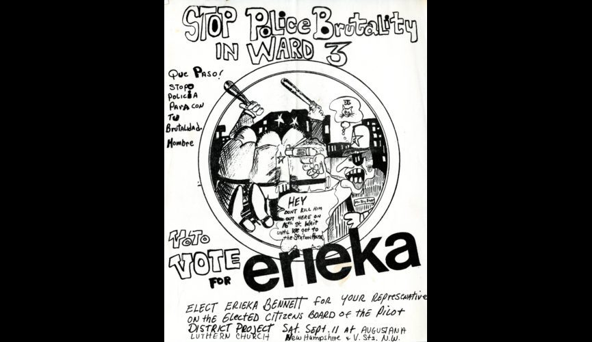 Campaign-flyer-Erieka-Bennett-PDP-Citizens-Board-1970.-Courtesy-Historical-Society-of-Washington-D.C.