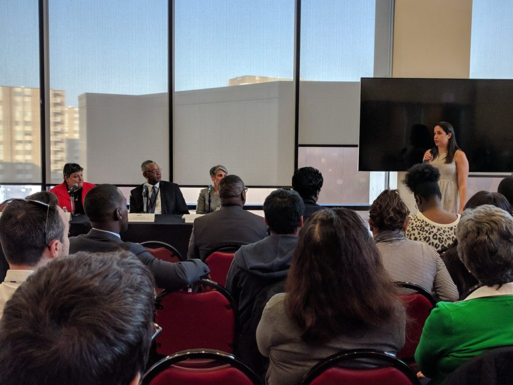 Leaders of local community colleges and universities along with a city official and education reporter discuss what DC's graduation crisis means for unprepared students entering college or the workforce.