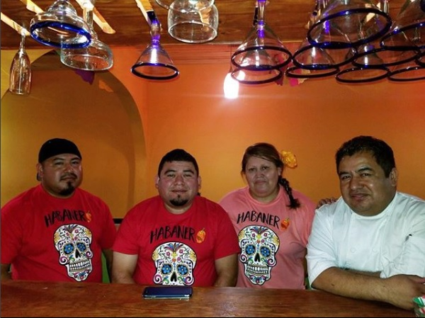 The family of Yicela Alvarado runs Taqueria Habanero at 3710 14th Street NW, Washington, DC.