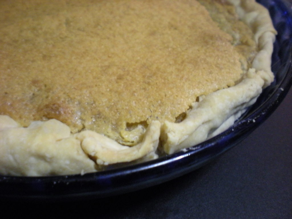 Vinegar pies were first created during the Depression, when access to traditional fillings was scarce.
