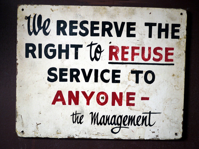 An old sign found in a converted factory in Pittsburgh.