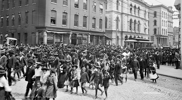 Emancipation Day parade, April 3, 1905 in Richmond, Va.