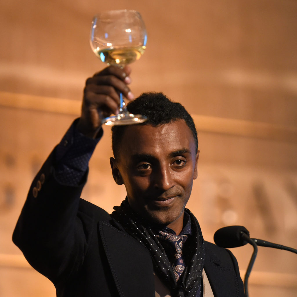 Chef Marcus Samuelsson at the National Museum of American History in 2015.