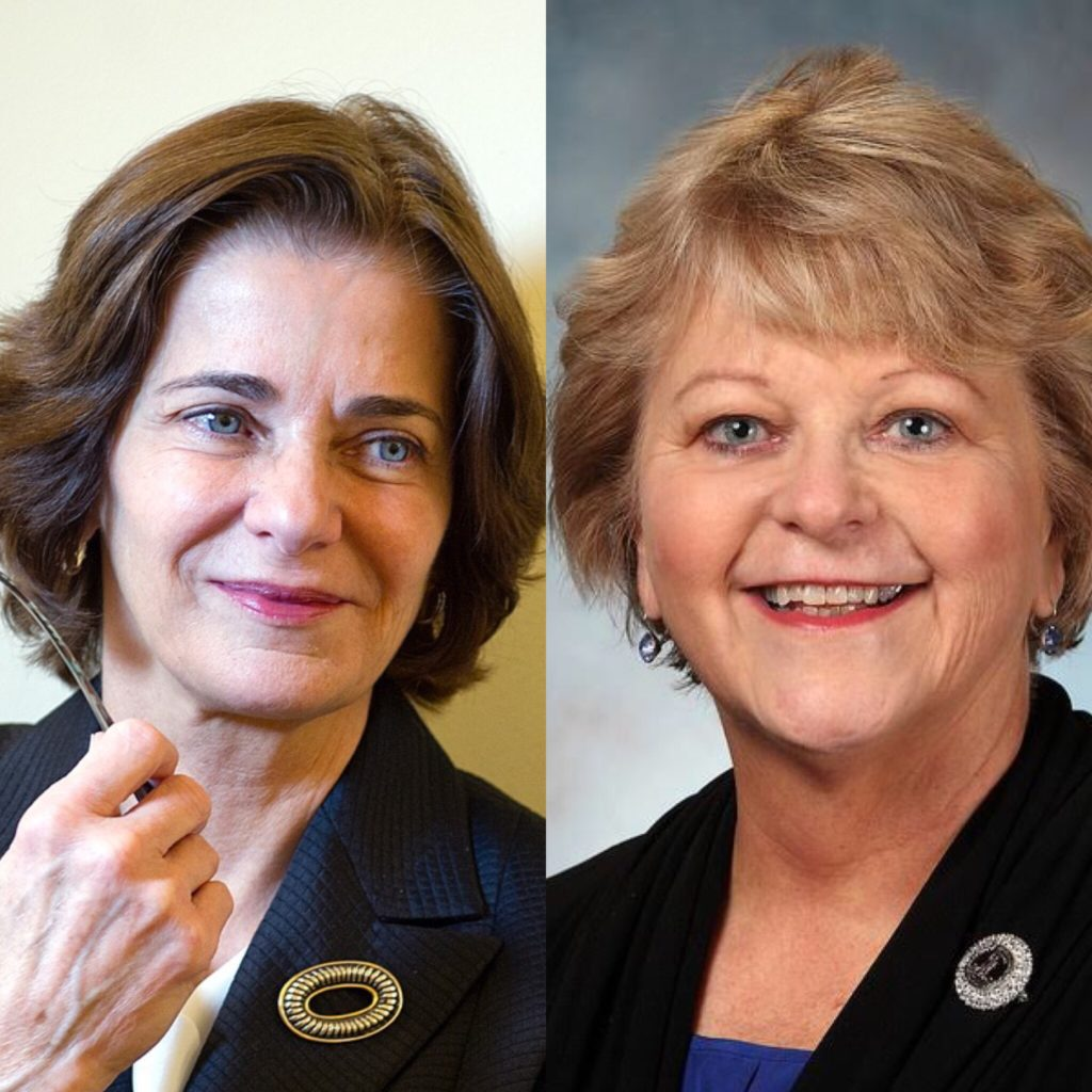 Mary Cheh and Susan Swecker