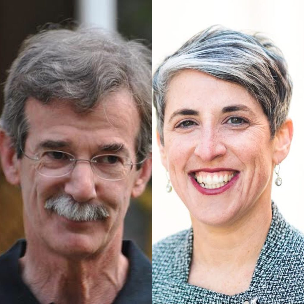 (L-R) Attorney General Brian Frosh and Councilmember Elissa Silverman