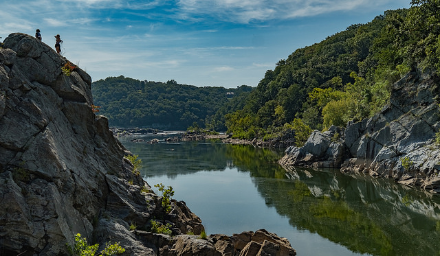The Billy Goat Trail at Great Falls National Park.