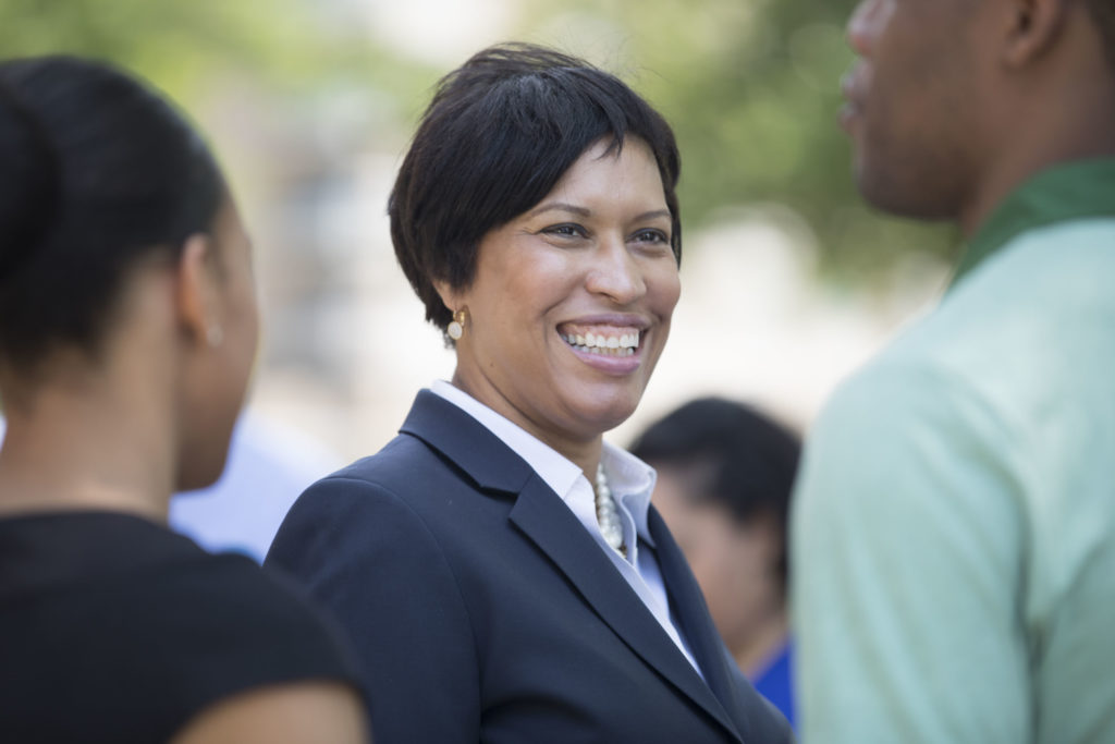 Mayor Muriel Bowser in 2018.