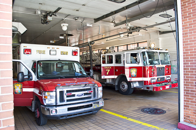 D.C. Fire and Emergency Medical Services.