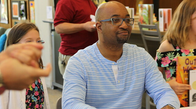 Children's author Kwame Alexander