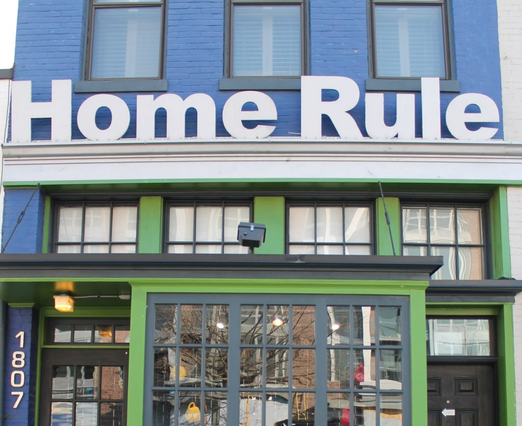 Home Rule on 14th Street shut its doors at the end of March.