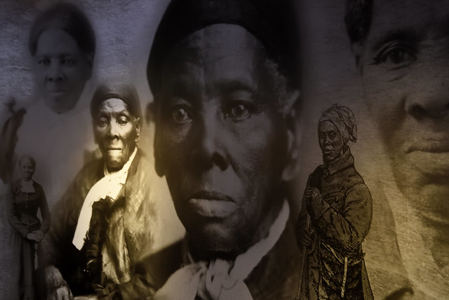 Images of Harriet Tubman from the Harriet Tubman State and National Park in Church Creek, Md.