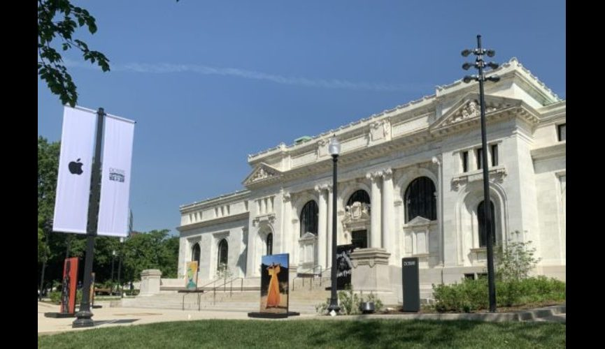 4 DC History Center at the restored Carnegie Library exterior by JTS 5-7-19 IMG_4573